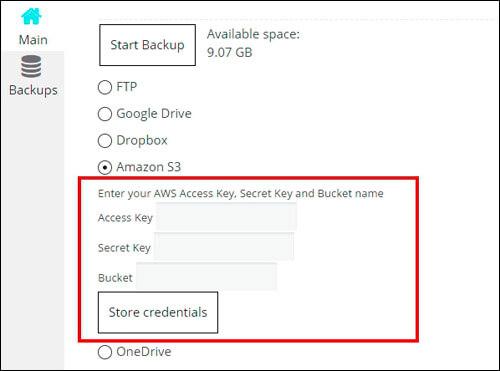 amazon_s3_store_credentials