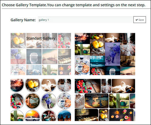 WordPress Gallery Templates