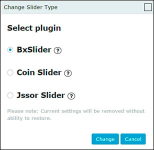 WordPress Slider Modules