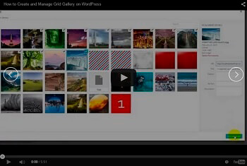 WordPress Video Slider