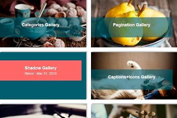 WordPress Gallery - Post Feed SlideUp