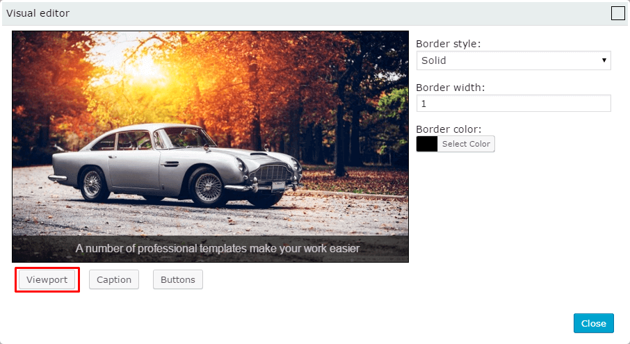 Viewport WordPress Slider Templates Builder