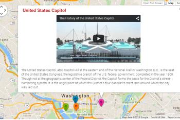WordPress Google Maps - Markers Description