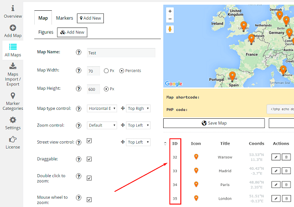 How to Zoom and Center the Initial Map on Markers?