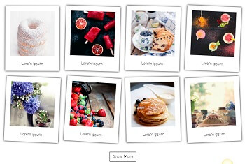 WordPress Gallery - Polaroid