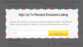 Popup Lead WordPress Plugin