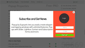 Popup Examples - Ultimate WordPress Plugins by Supsystic