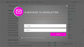 Subscribe Popup Plugin