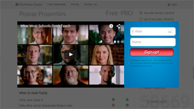 Video Contact Form Popup