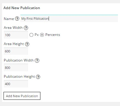 Digital Publication plugin