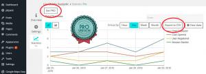 Statistics of Live Chat plugin for WordPress