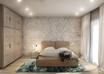 textured-geometric-accent-wall