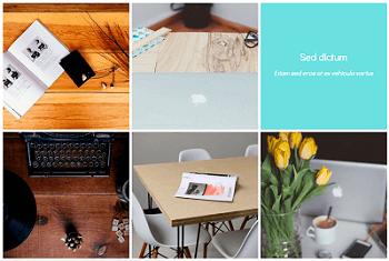 WordPress Gallery - 3D Cube Caption Effect