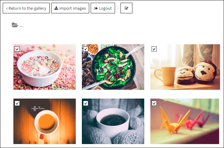 Google Drive folder in WordPRess Photo Gallery plugin
