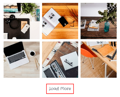 Load More button in Photo Gallery plugin