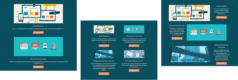 Newsletter Dynamic Content Templates