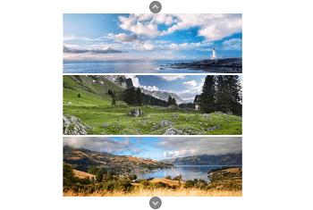 WordPress Slider - Vertical Carousel