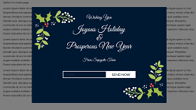 Merry Christmas Popup Template