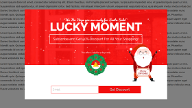 Holiday Sale Popup Template