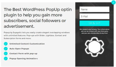 List Building Neo Popup Template