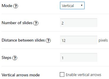 Bx Vertical Mode