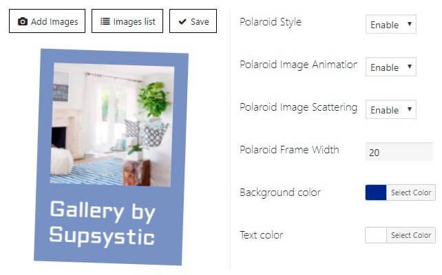Polaroid Image Animation