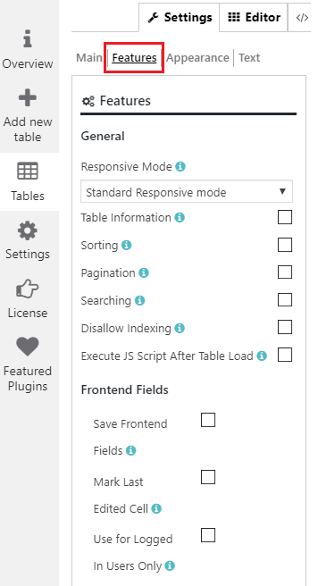Create Responsive Table with Datatable Plugin by Supsystic