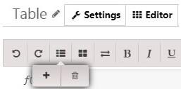 Data Tables Generator add columns