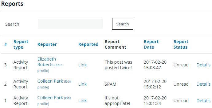 Membership Content Reports