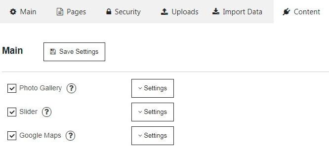 Membership Content tab