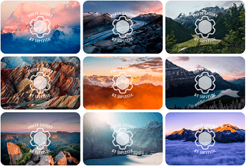 WordPress Gallery - Watermark