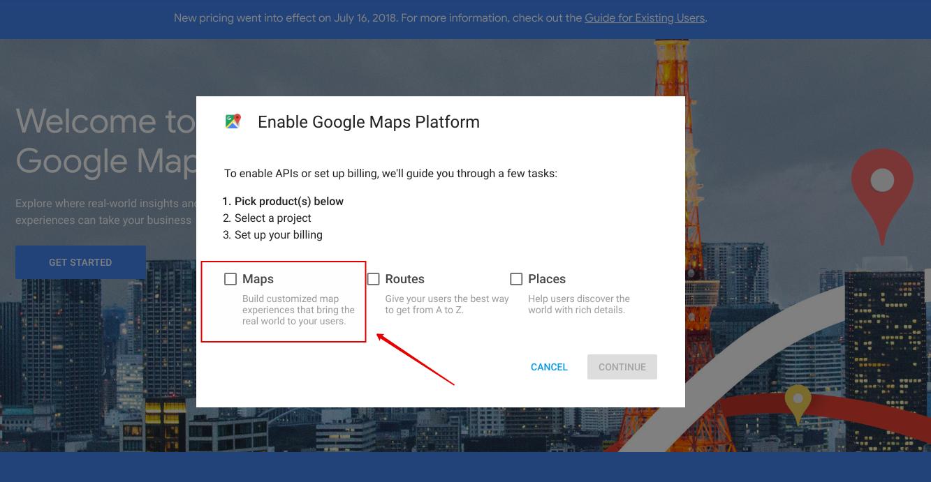 How to get Google Maps API Key? - WordPress Google Maps plugin
