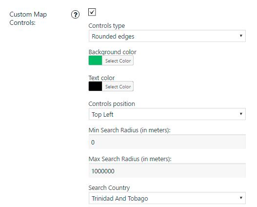 Google Map Custom Controls