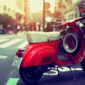 Scooter-vintage-photography