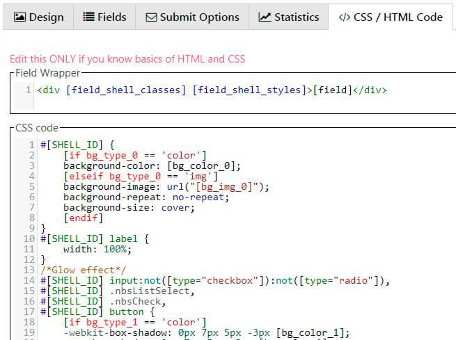 Newsletter CSS tab