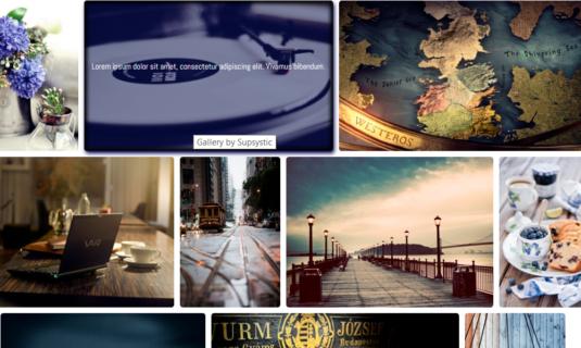 WordPress Gallery - Shadow