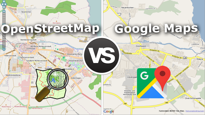 Google-Maps-vs-OpenStreetMap