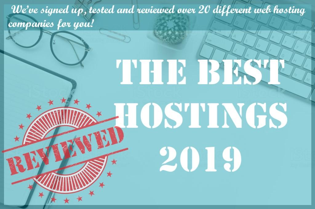 The best Hostings 2019
